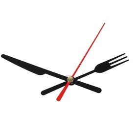 Комплект из 3-х стрелок для часов черные вилка нож 58/72 (671) (фасовка 100 наборов) Ош