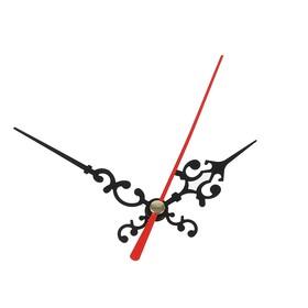 Комплект из 3-х стрелок для часов, черные, резные 50/68 (1045) (фасовка 100 наборов) Ош