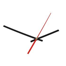 Комплект из 3-х стрелок для часов черные 75/115 (1075) (фасовка 100 наборов) Ош