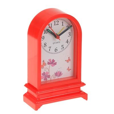 Будильник детский «Ретро», красный, 15х9.5х4.5 см