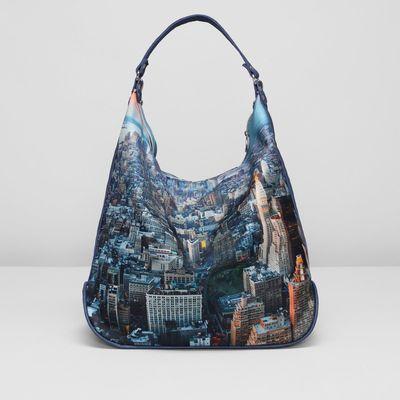 Сумка-рюкзак на молнии, 1отдел с перегородкой, ручки-трансформер, разноцветный