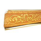 Плинтус потолочный красное золото 10,7х2,5х300
