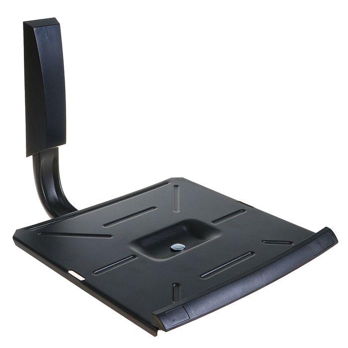 """Кронштейн Trone ТВ 30, для ТВ ЭЛТ, наклонно-поворотный, до 14"""", 445 мм от стены, черный"""