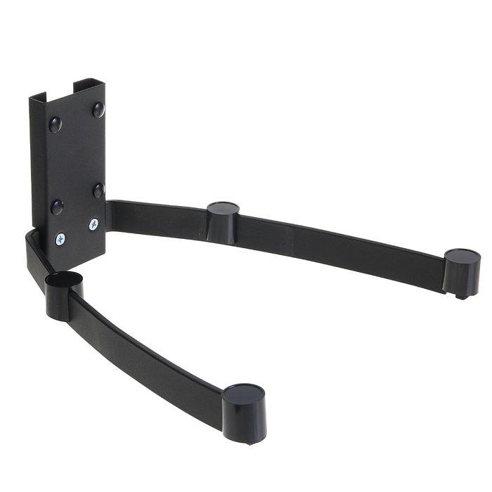 Кронштейн Trone ВМ 8, для аудио-видео аппаратуры, до 20 кг, 290х334 мм, черный