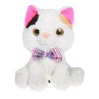 """Мягкая игрушка """"Кошка с бантом"""" №2, 22 см"""