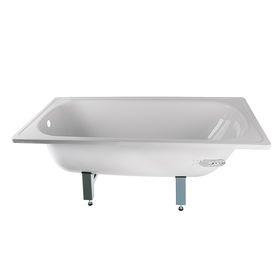 Ванна ANTIKA ЭКОНОМ, cтальная, эмалированная, белая, ножки в комплекте, 170х70 см