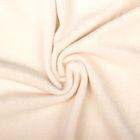 Ткань д/игрушек  Плюш трикотажный 50 см  390±10 г/кв.м 50% хлопок, 50% полиэстер св.бежевый   247930