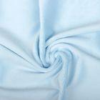 Ткань д/игрушек  Плюш 48х48 см  440 г/кв.м  100% полиэстер   baby blue