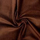 Ткань д/игрушек  Плюш 48х48 см  440 г/кв.м  100% полиэстер   brown