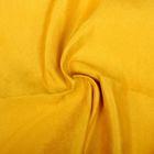 Ткань д/игрушек  искусственная замша  35х50 см  230±5 г/кв.м  100% полиэстер   горчичный