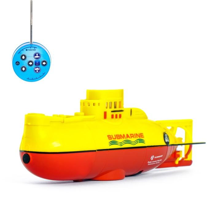 Подводная лодка радиоуправляемая «Гроза морей», световые эффекты, МИКС