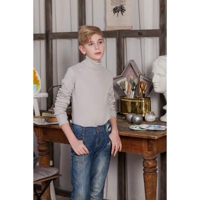 Водолазка для мальчика, рост 152 см, цвет серый CAJ 61166