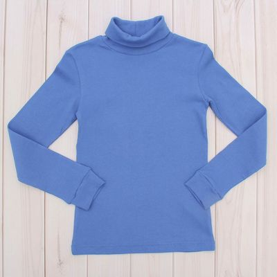 Водолазка для мальчика, рост 158 см, цвет синий CAJ 61166