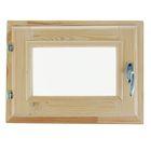Окно 30х40 см, двойное стекло, хвоя