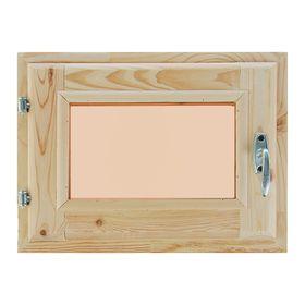 Окно (хвоя) 30х40см, двойное стекло, тонированное,
