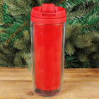 The vacuum Cup under the printing paste, red, 350 ml