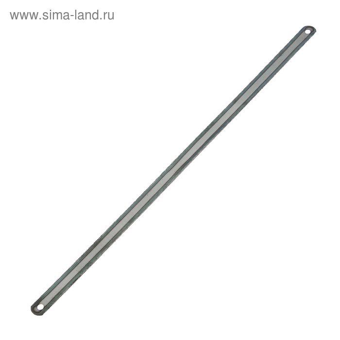 Полотна для ножовки по металлу TUNDRA, 24 TPI, двухсторонние, закалённый зуб 300 мм, 72 шт 1