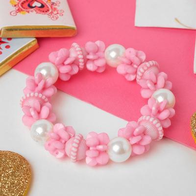 """Bracelet child """"Vibracula"""" Yula, color pink"""