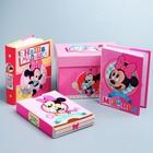 """Набор 2 фотоальбома на 36 фото + памятная коробочка """"Сокровища нашей мылышки"""", Дисней Бейби Минни Ма"""