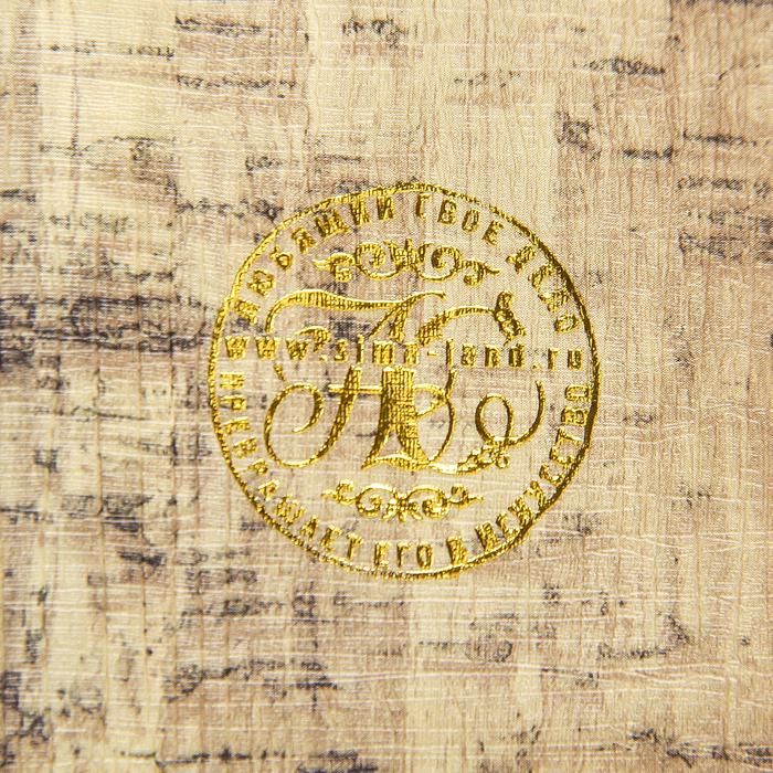 "Шкатулка-книга дерево ""Рыцарский щит"" кожзам 21х13х5 см"