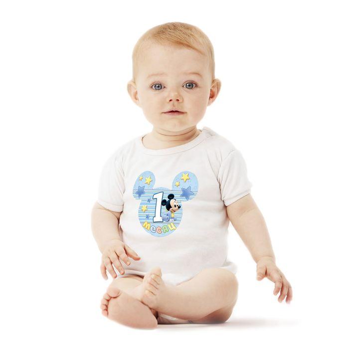 """Наклейки для фотографирования """"Малыша, ушки"""", Дисней Беби, Микки Маус, 12 шт."""