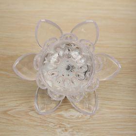 Ночник пластик 'Цветочек' 8х8х7,5 см Ош