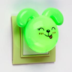 "Ночник LED ""Кролик"",7 см, 4W (V220) МИКС пластик"