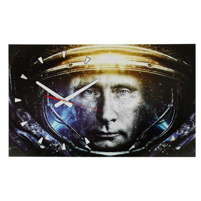 """Часы настенные, серия: Люди, """"Путин"""", 37х61 см"""