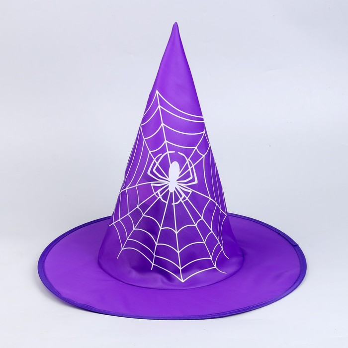 "Carnival hat ""Spider"", color purple"
