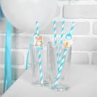 Набор для оформления праздника «1 годик малыш», воздушные шары, подставка для торта, гирлянда, топперы, открытка, свеча - фото 951058