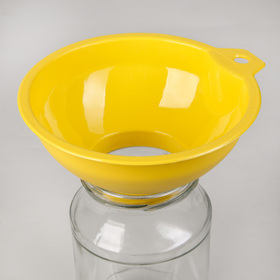 Funnel for wide-mouth jars, MIX color