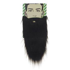 Карнавальная борода «Старик», цвет чёрный