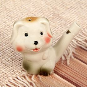 "Ceramic tin whistle ""Puppy"""