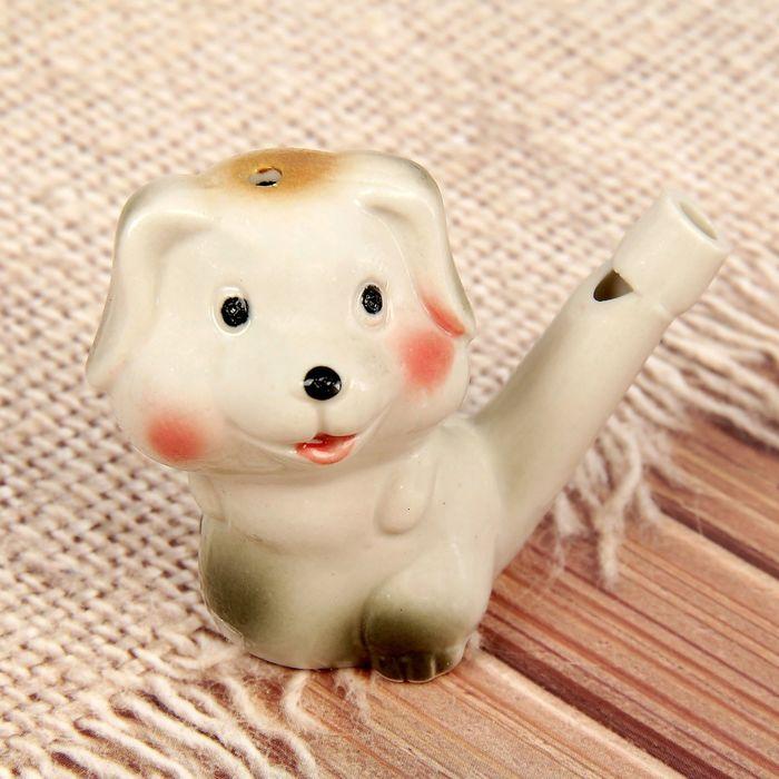 Свистулька керамическая «Щенок»