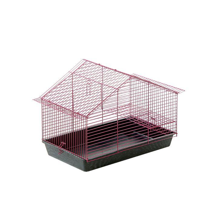 "Клетка для грызунов ""Дом"", 40 х 25 х 25 см, микс цветов"