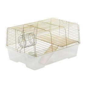 Клетка для морских свинок и кроликов «Роджер 1», 78 х 56 х 42 см, микс цветов