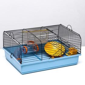 """Клетка для грызунов """"Хома 1"""", 49 х 36 х 24 см, микс цветов"""