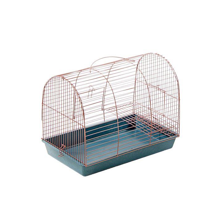 """Клетка для грызунов """"Саквояж"""", малая, двухярусная, 40 х 25 х 32 см, микс цветов"""