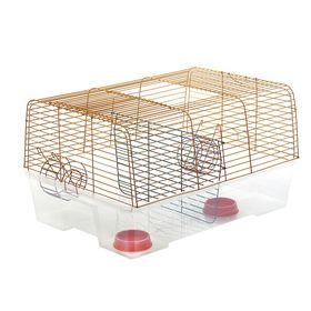 Клетка для кроликов и морских свинок «Роджер 1 (Дуэт)», 78 х 56 х 42 см, микс цветов