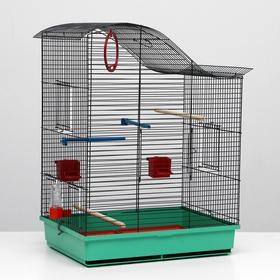 Клетка для попугая 'Фиона', 4 яруса, 48 х 38 х 65 см, микс цветов Ош