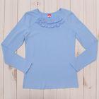 Блузка для девочки, рост 152 см, цвет голубой CAJ 61635
