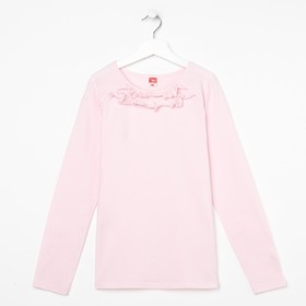 Блузка для девочки, рост 128 см, цвет розовый CAJ 61635