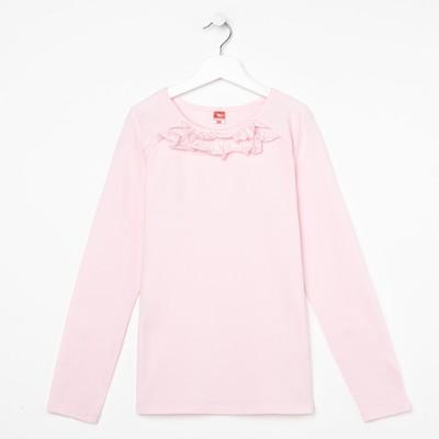 Блузка для девочки, рост 152 см, цвет розовый