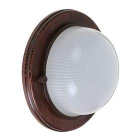 Светильник для бани/сауны ITALMAC Termo 60 00 16, 60 Вт, IP54, цвет венге, до +130°C