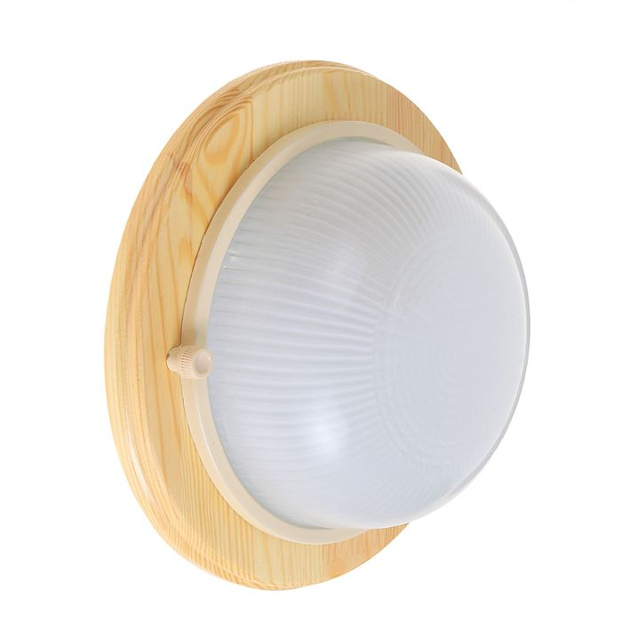 Светильник для бани/сауны ITALMAC Termo 60 00 18, 60 Вт, IP54, цвет береза, до +130°C
