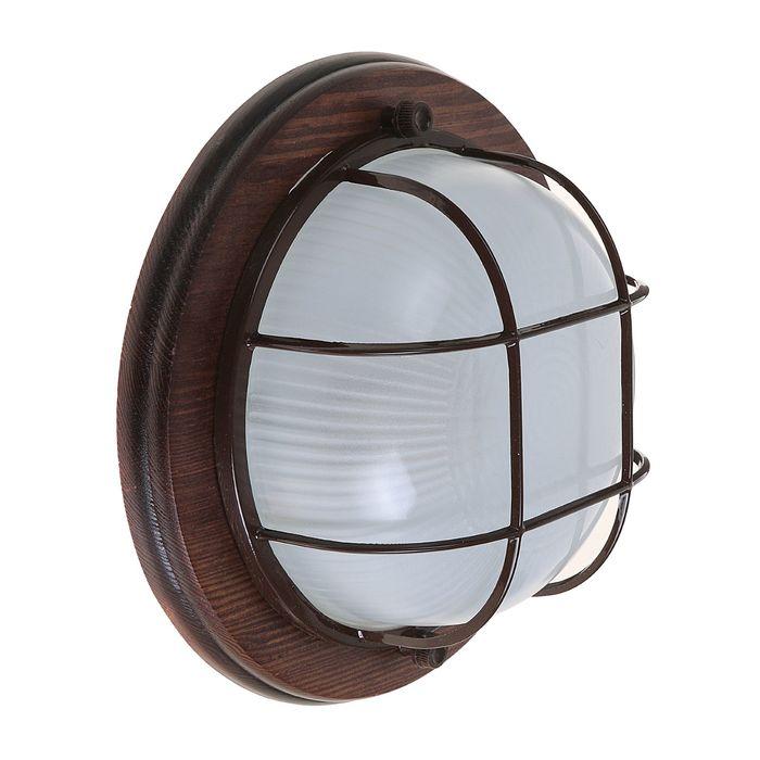 Светильник для бани/сауны ITALMAC Termo 60 01 16, 60 Вт, IP54, цвет венге, до +130°C