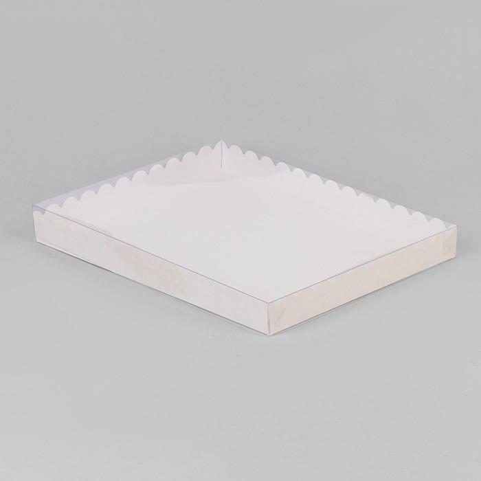 Коробочка для печенья 23,5 х 30 х 3 см - фото 308035250