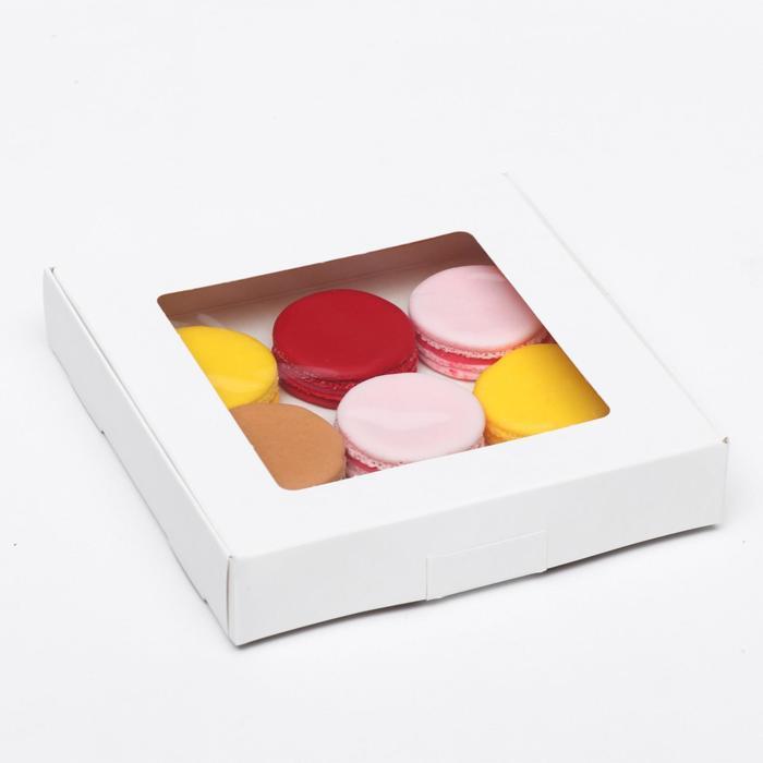 Коробка самосборная бесклеевая, 16 х 16 х 3 см - фото 308035258