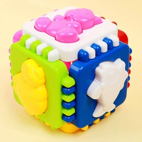 Логический куб «Весёлые зверята»