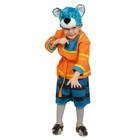 """Карнавальный костюм """"Кот Котофей"""", маска, рубаха, пояс, шорты, рост 98-128 см"""